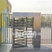 湛江医院人行道出口旋转门闸 不锈钢单向门
