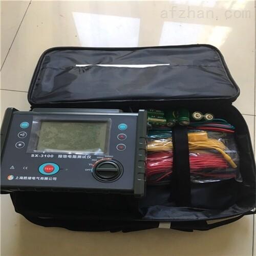 SX3010接地电阻土壤电阻率测试仪