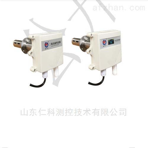 管道式二氧化碳变送器485型