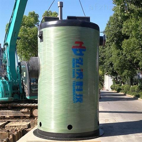 江西 南昌一体化泵站厂家 预制式安装