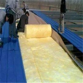 10米*125屋顶玻璃棉卷毡 棚顶棉毡卷