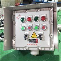 户外立式防爆控制箱带防雨罩