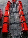 HC-P-D漂浮救援担架 水域救生架 带检测报告