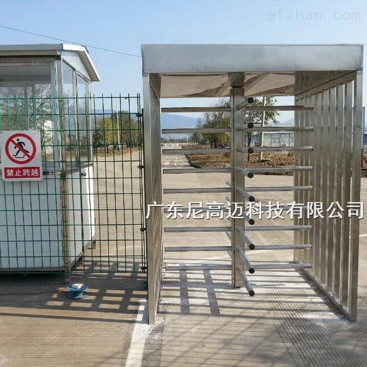 桂林企业进出打卡单向旋转十字全高转闸