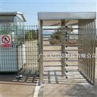 NGM桂林企业进出打卡单向旋转十字全高转闸