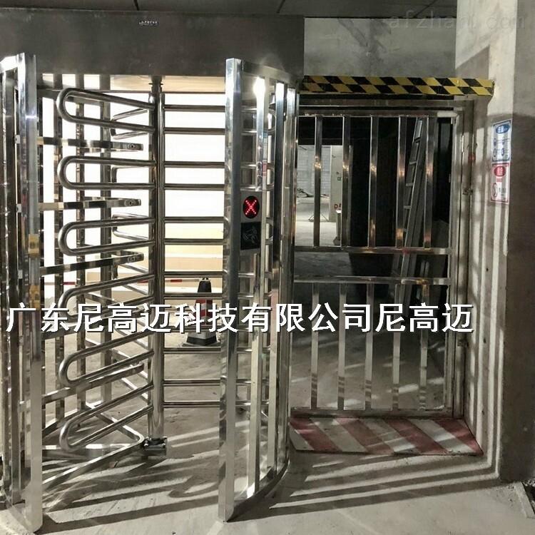 深圳旋转等高门 三角架栅栏全高转闸机