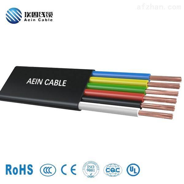 YFFBG 起重机扁电缆(带钢丝)