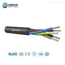 CE认证 H05V2V2-F 300/500V护套耐油软电缆