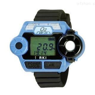 日本理研GW-2X手表式超小型氧气检测仪/便捷/显示屏/防爆