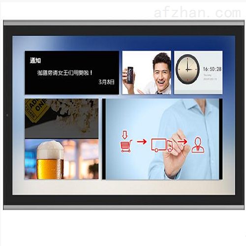 65寸壁挂式室内广告屏