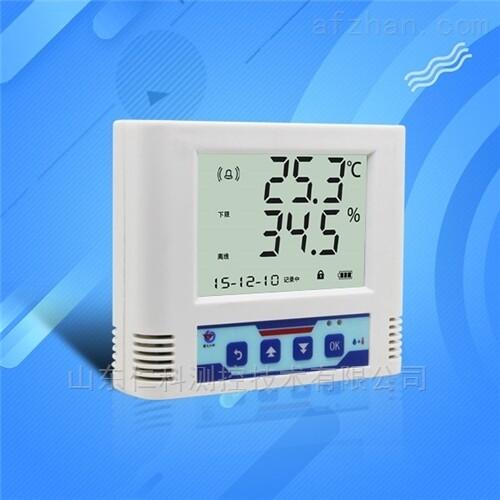建大仁科液晶大屏显示温湿度记录仪*