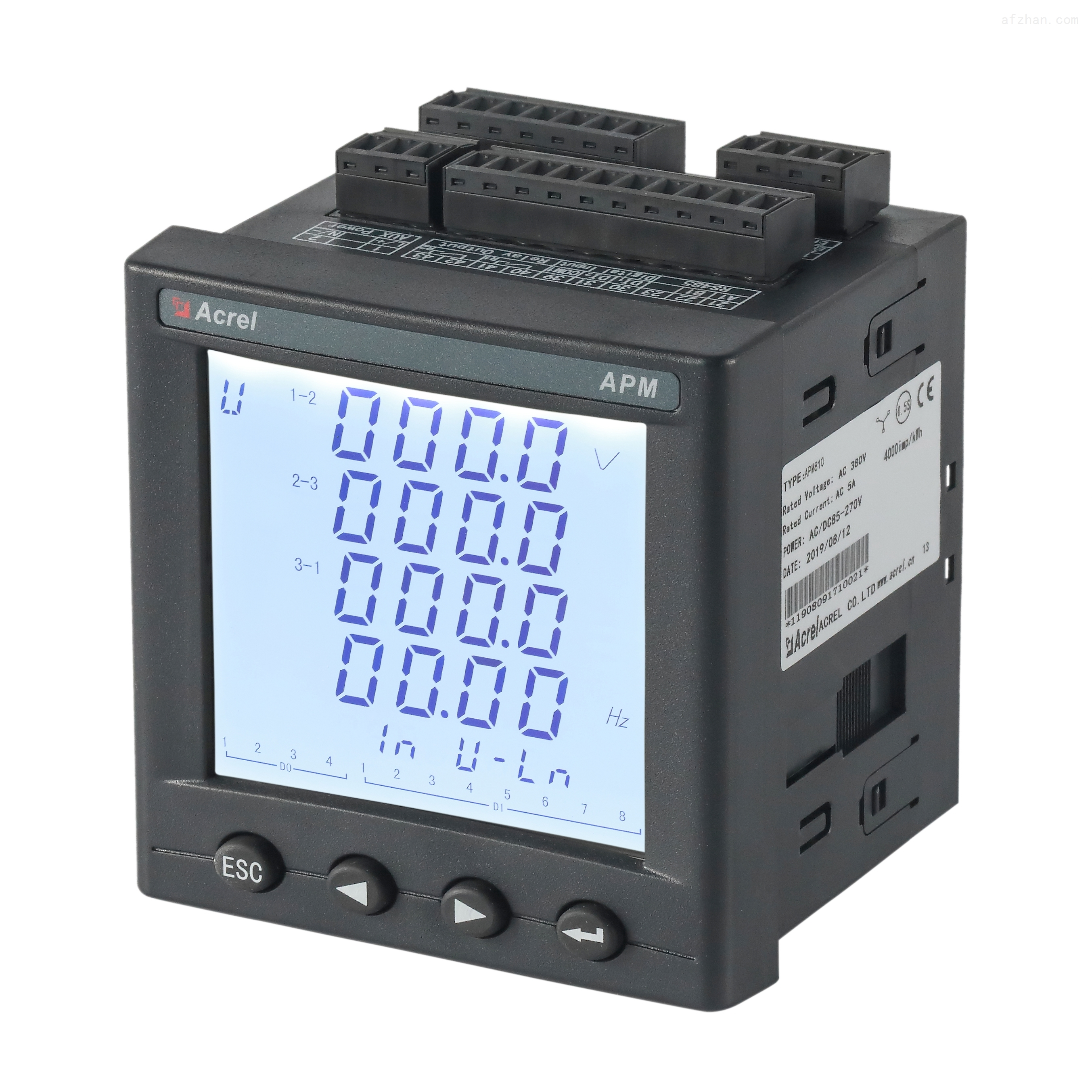 电能质量监测仪表 录波功能、事件记录功能
