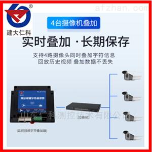 建大仁科高清网络视频字符叠加器环境监控