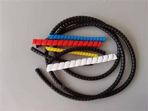 PE缠绕管 黑色PP线卡线管 黑色PE卷式结束带