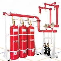 单柜双柜管网七氟丙烷气体灭火系统