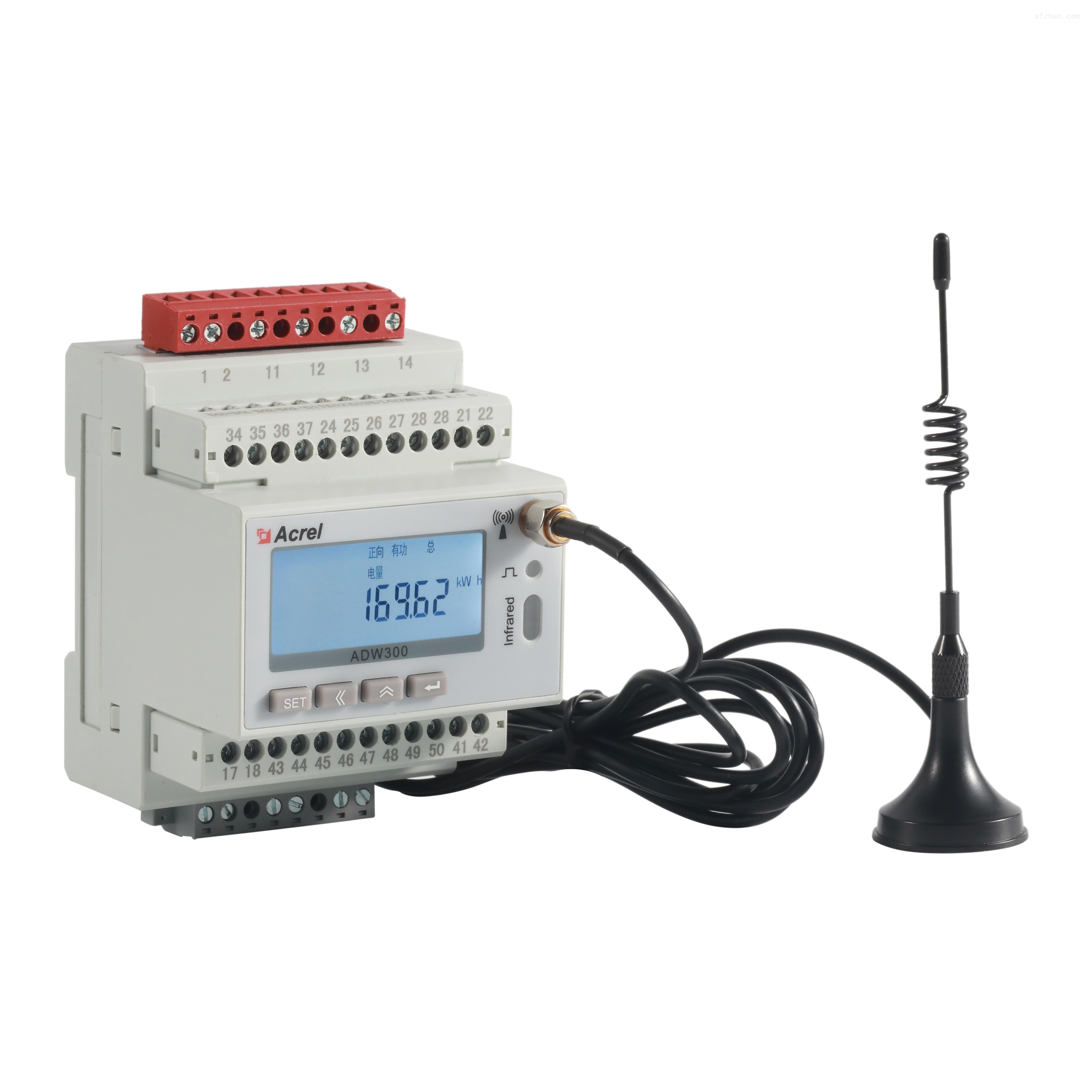 电力运维电能表 三相电力仪表导轨安装