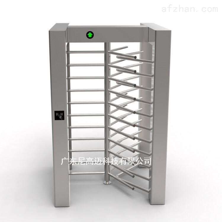厂家定制不锈钢全高闸单向旋转门