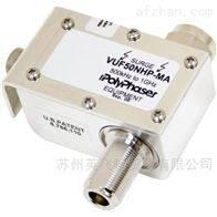 VUF50NHP-MAPolyphaser 0.5MHz-1GHz隔直流滤波防雷器