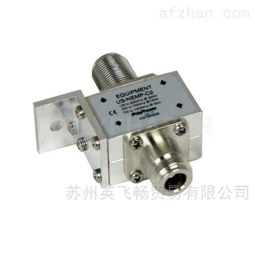 Polyphaser 125MHz-1GHz隔直流滤波防雷器