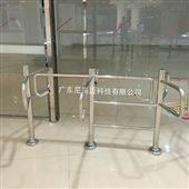 NGM-Z03生鲜超市单向入口不锈钢半高转闸厂家