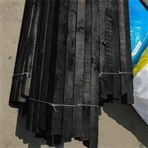 厂家生产防腐木条 沥青漆防腐管道垫木2米长