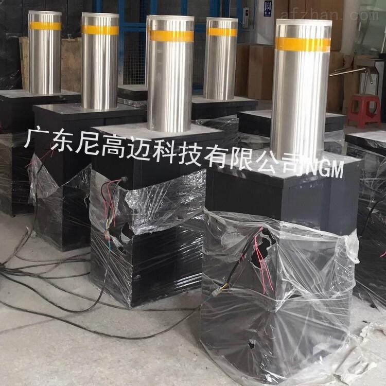 自动收缩液压升降柱