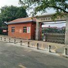 天津渤海小學校園升降防撞柱 液壓伸縮路樁