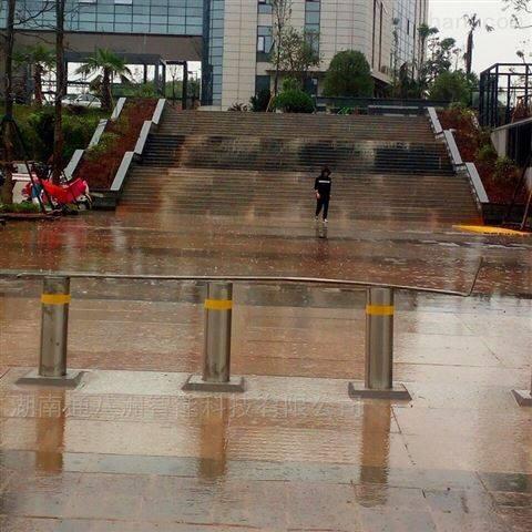公园广场半自动手动升降柱