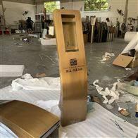 深圳廠家可視樓宇對講不銹鋼立柱梯口機立柱