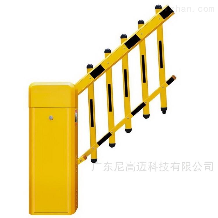 二排护栏杆挡车器 遥控道闸