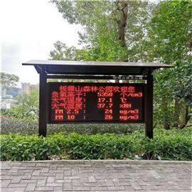BYQL-FY珠海公园负氧离子在线监测显示系统