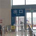 NGM-Q018双鸭山动车高铁站全高梳状单向门生产