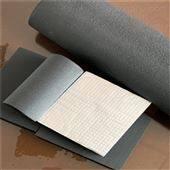 橡塑板铝箔贴橡塑保温板厂家报价多少钱