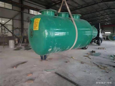 50T/D玻璃钢一体化污水处理设备