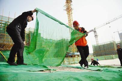 淄川区住建局:严抓建筑工地扬尘防治,助力生态环境整治