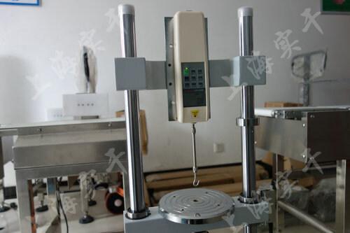电瓶连接线拔脱力测试台图片