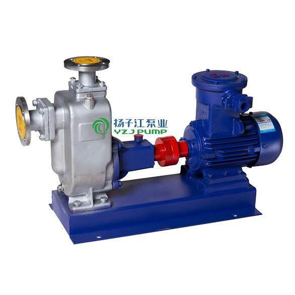 ZW型防爆自吸式排污泵|不锈钢自吸式排污泵
