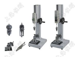 钮扣拉力测试仪规格型号   产品型号 (Model) zui大负载   (N) 有效行程 (mm)    外形尺寸    (mm)   重量 (KG) SGNL 300 180 700X260X360 20