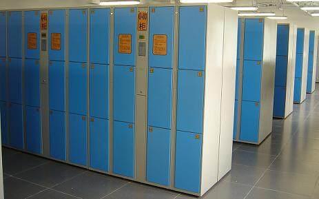 36门电子寄存柜。