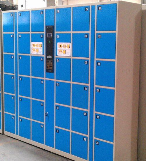 12门IC超市储物柜