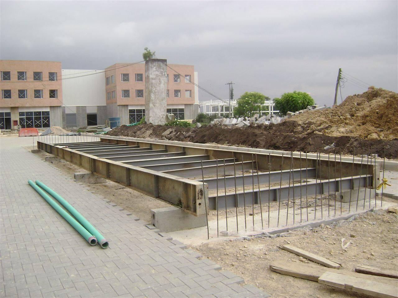 供应亚津混凝土式汽车衡 OEM加工生产汽车衡