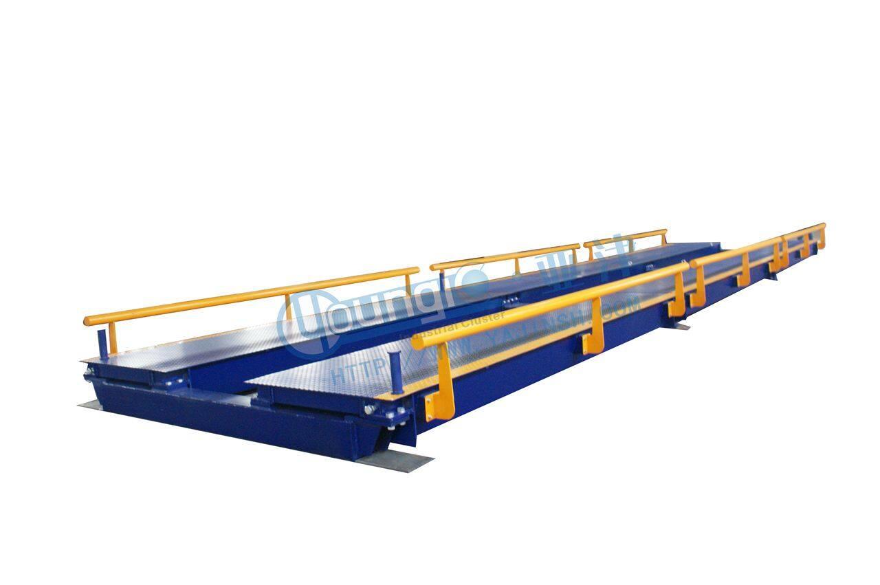 供应亚津出口型电子汽车衡 卡车电子磅秤定制生产