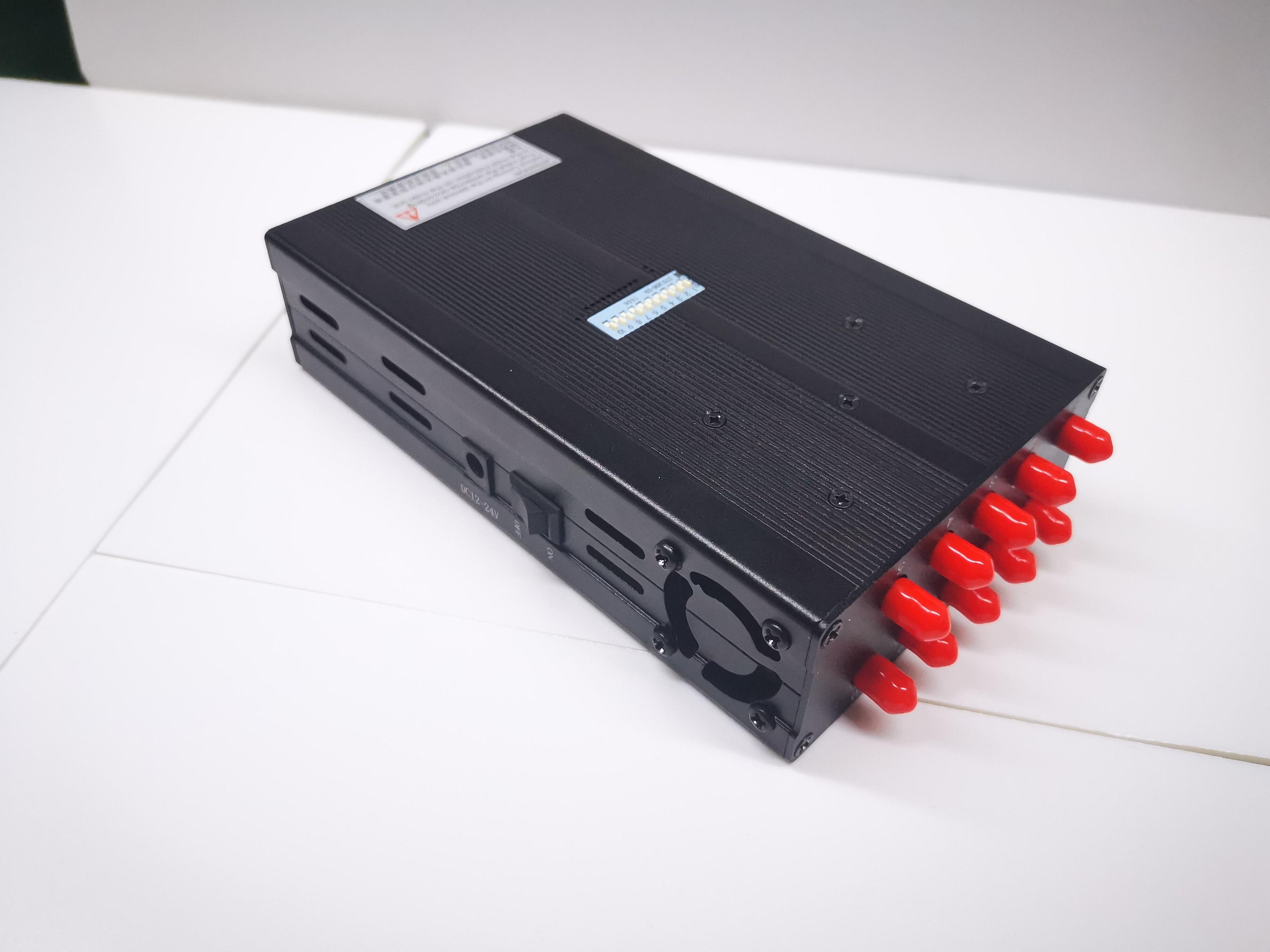 10路手持gps信号屏蔽器