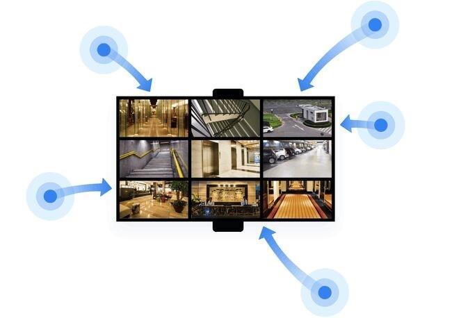 异地视频监控互联互通 蒲公英SD-WAN智能组网解决方案