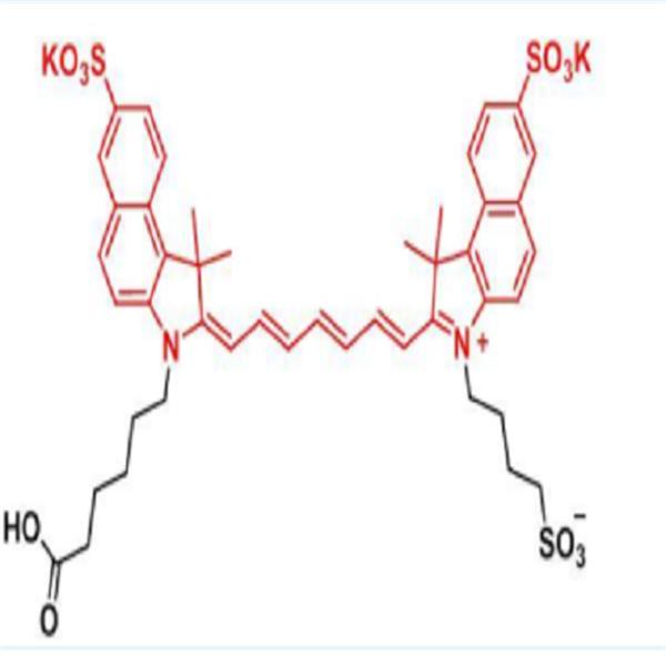水溶性DBCO-trisulfo-ICG吲哚菁绿标DBCO